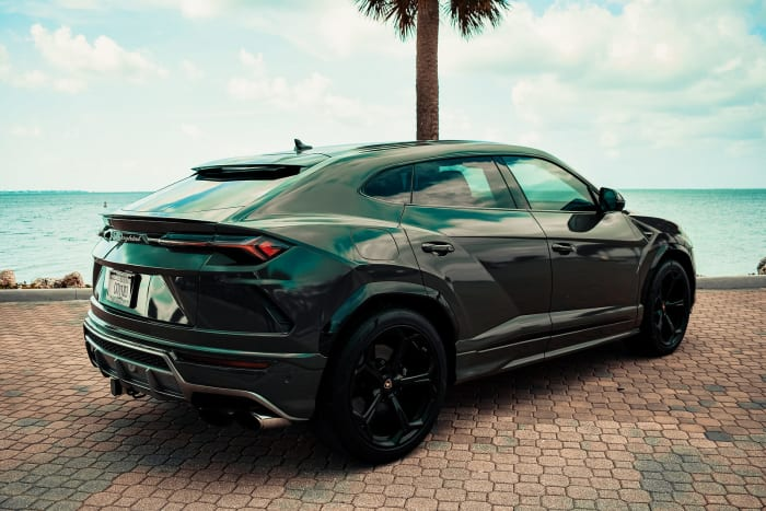 Image #2 of our 2018 Lamborghini Urus  (Army Green) In Miami Fort Lauderdale Palm Beach South Florida