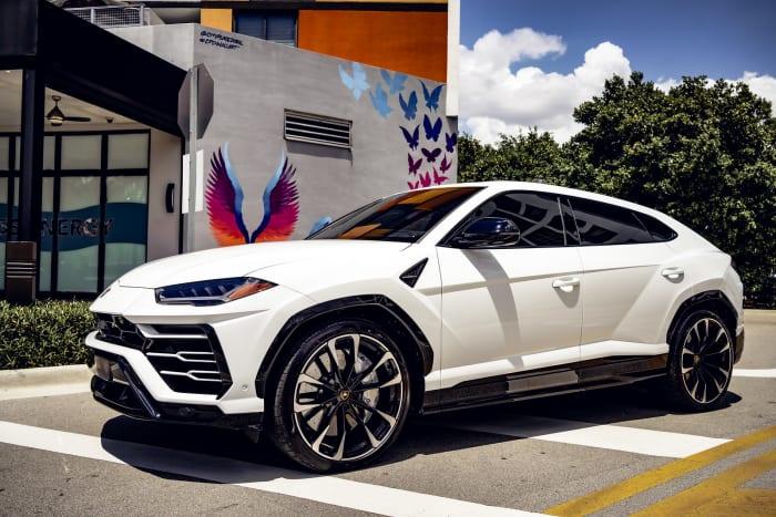 Image #0 of our 2021 Lamborghini Urus  (White) In Miami Fort Lauderdale Palm Beach South Florida