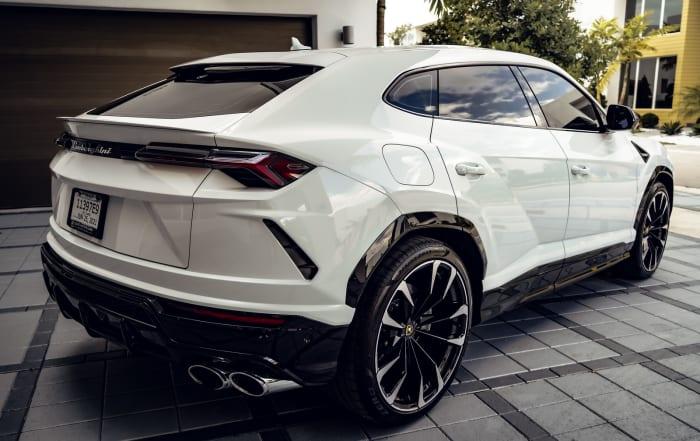 Image #1 of our 2021 Lamborghini Urus  (White) In Miami Fort Lauderdale Palm Beach South Florida