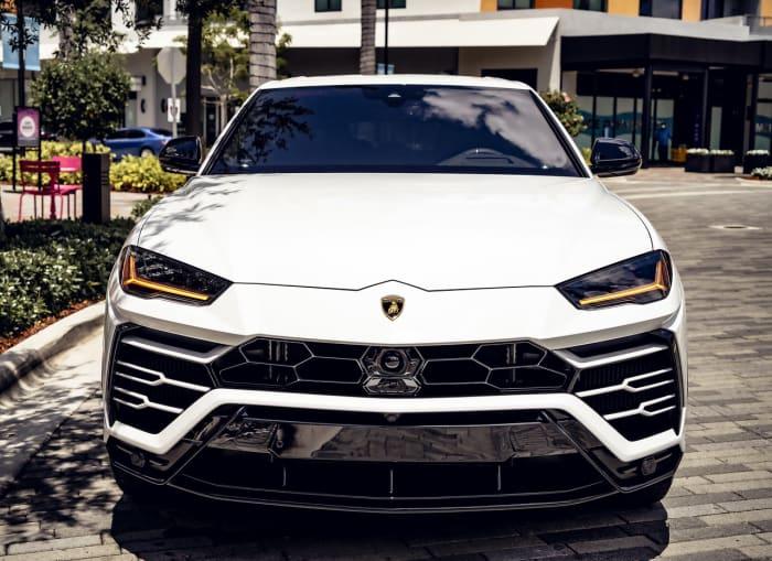 Image #3 of our 2021 Lamborghini Urus  (White) In Miami Fort Lauderdale Palm Beach South Florida