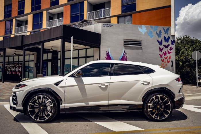 Image #2 of our 2021 Lamborghini Urus  (White) In Miami Fort Lauderdale Palm Beach South Florida