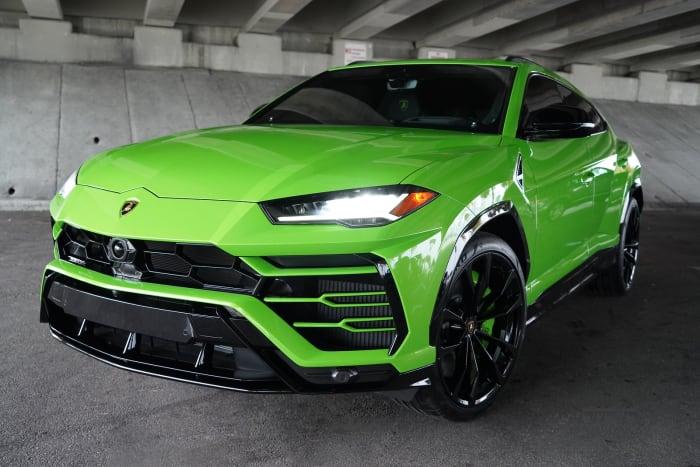 Image #0 of our 2021 Lamborghini Urus  (Green) In Miami Fort Lauderdale Palm Beach South Florida