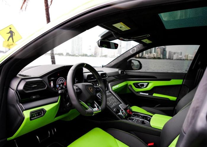Image #5 of our 2021 Lamborghini Urus  (Green) In Miami Fort Lauderdale Palm Beach South Florida