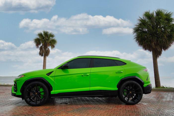 Image #3 of our 2021 Lamborghini Urus  (Green) In Miami Fort Lauderdale Palm Beach South Florida