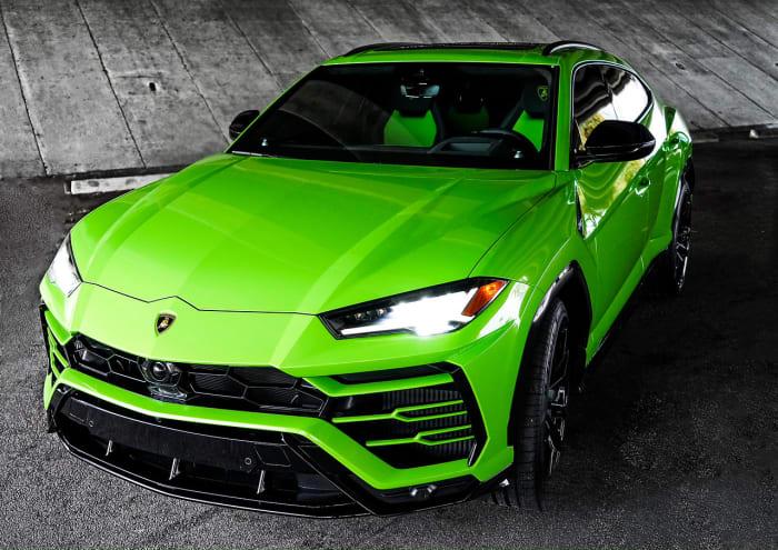 Image #2 of our 2021 Lamborghini Urus  (Green) In Miami Fort Lauderdale Palm Beach South Florida