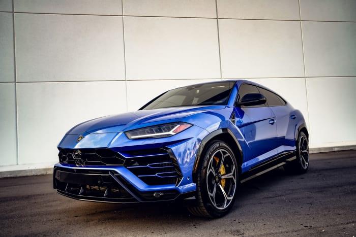 Image #0 of our 2018 Lamborghini Urus  (Blue) In Miami Fort Lauderdale Palm Beach South Florida