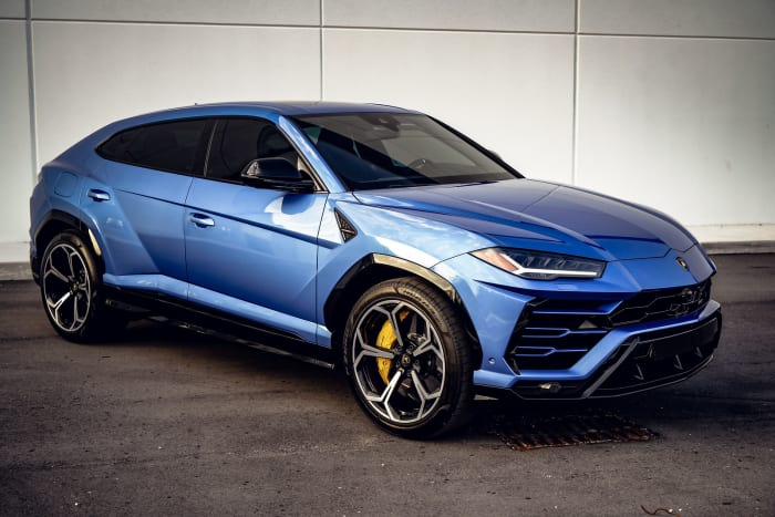 Image #3 of our 2018 Lamborghini Urus  (Blue) In Miami Fort Lauderdale Palm Beach South Florida