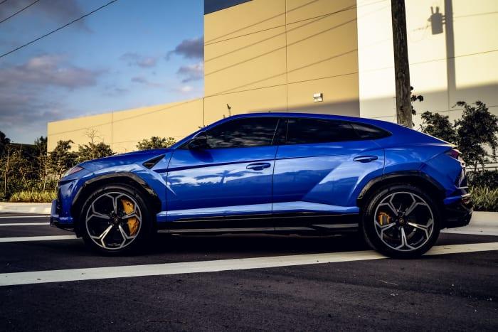 Image #6 of our 2018 Lamborghini Urus  (Blue) In Miami Fort Lauderdale Palm Beach South Florida