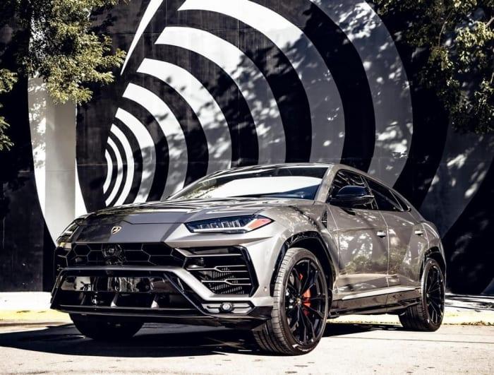 Image #0 of our 2021 Lamborghini Urus Starlight (Gray) In Miami Fort Lauderdale Palm Beach South Florida