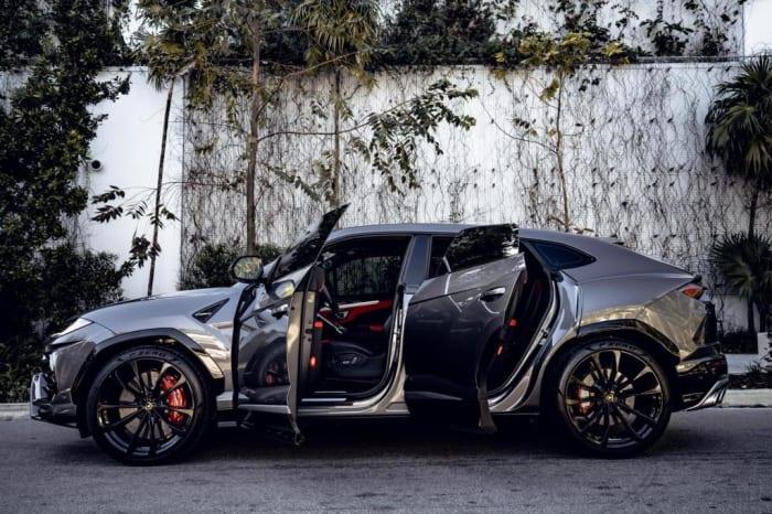 Image #5 of our 2021 Lamborghini Urus Starlight (Gray) In Miami Fort Lauderdale Palm Beach South Florida