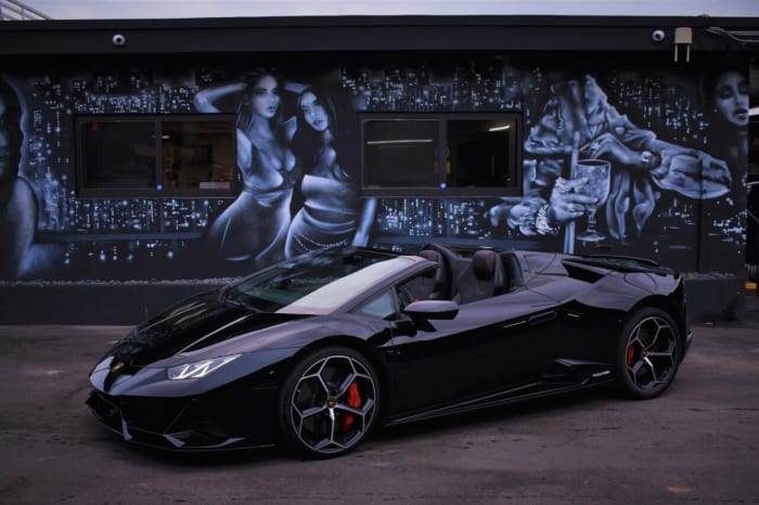 Image #3 of our 2021 Lamborghini Huracan EVO Spyder (Convertible) (Black) In Miami Fort Lauderdale Palm Beach South Florida
