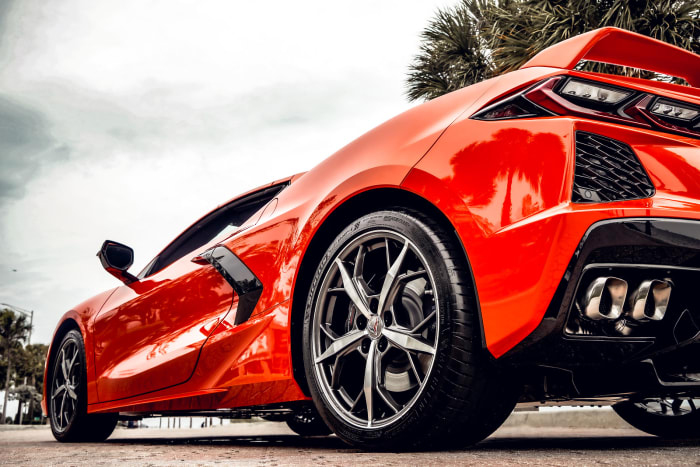 Image #3 of our 2021 Chevrolet Corvette C8 Convertible (Orange) In Miami Fort Lauderdale Palm Beach South Florida