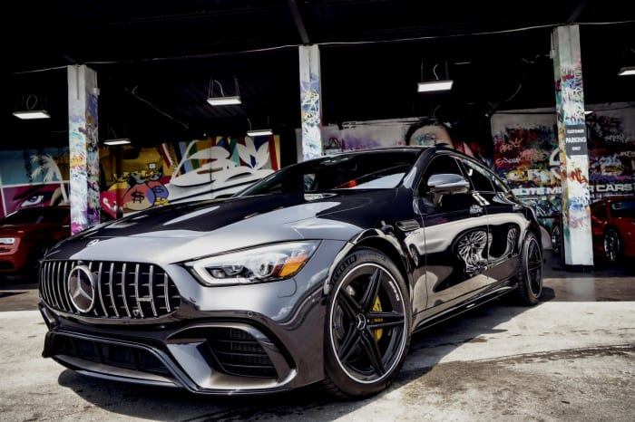 Image #0 of our 2020 Mercedes Benz GT63S AMG Starlight (Dark Gray) In Miami Fort Lauderdale Palm Beach South Florida