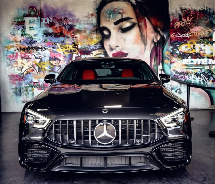 Image #1 of our 2020 Mercedes Benz GT63S AMG Starlight (Dark Gray) In Miami Fort Lauderdale Palm Beach South Florida