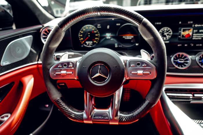 Image #4 of our 2020 Mercedes Benz GT63S AMG Starlight (Dark Gray) In Miami Fort Lauderdale Palm Beach South Florida