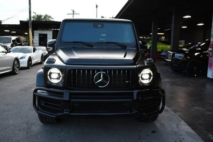 Image #1 of our 2021 Mercedes Benz G63  (Matte Black) In Miami Fort Lauderdale Palm Beach South Florida