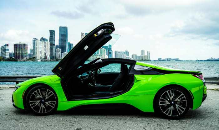 Image #5 of our 218 BMW I8  (Neon Green) In Miami Fort Lauderdale Palm Beach South Florida