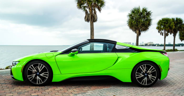 Image #6 of our 218 BMW I8  (Neon Green) In Miami Fort Lauderdale Palm Beach South Florida
