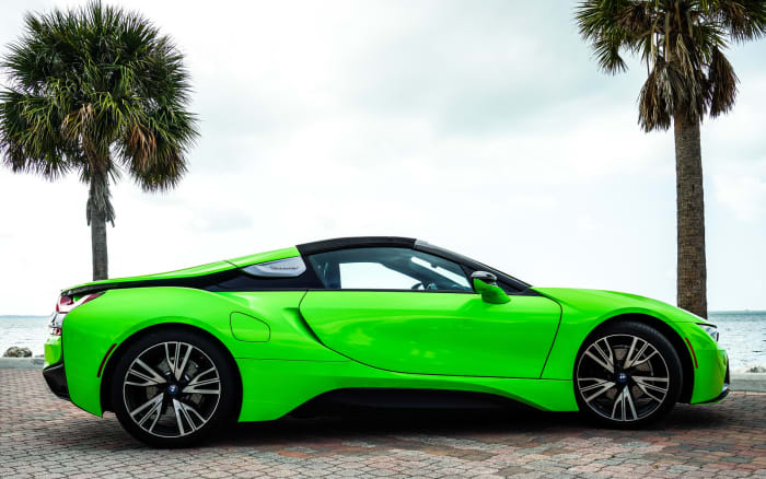 Image #4 of our 218 BMW I8  (Neon Green) In Miami Fort Lauderdale Palm Beach South Florida