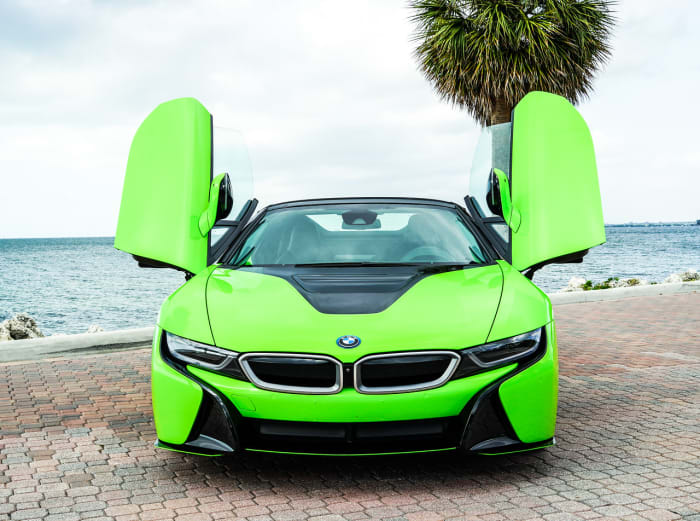 Image #3 of our 218 BMW I8  (Neon Green) In Miami Fort Lauderdale Palm Beach South Florida