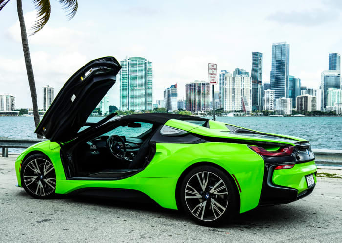 Image #8 of our 218 BMW I8  (Neon Green) In Miami Fort Lauderdale Palm Beach South Florida