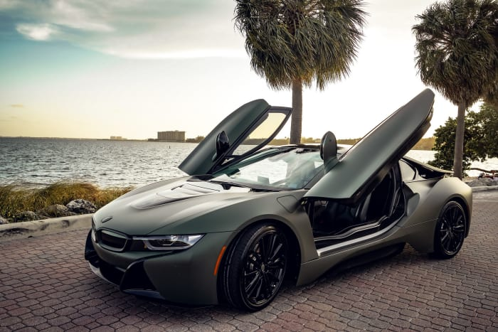 Image #3 of our 2018 BMW I8  (Army Green) In Miami Fort Lauderdale Palm Beach South Florida