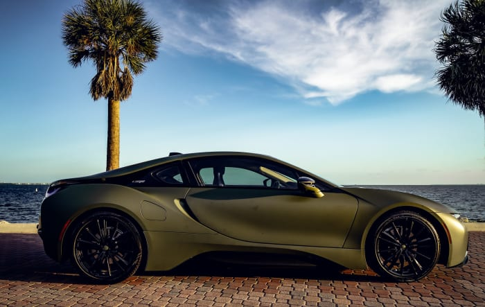 Image #2 of our 2018 BMW I8  (Army Green) In Miami Fort Lauderdale Palm Beach South Florida