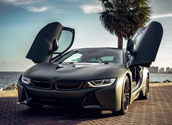 Image #5 of our 2018 BMW I8  (Army Green) In Miami Fort Lauderdale Palm Beach South Florida