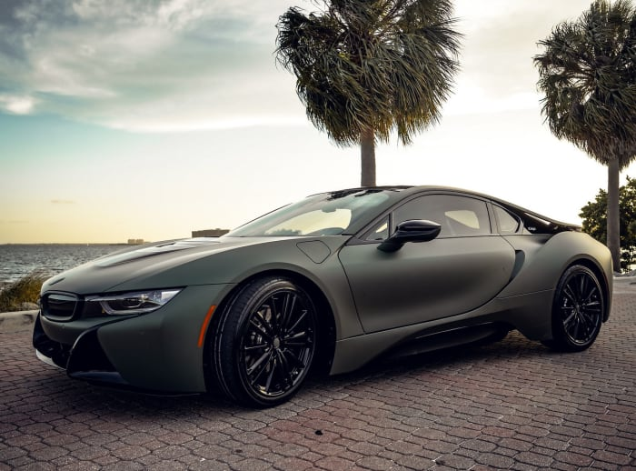Image #4 of our 2018 BMW I8  (Army Green) In Miami Fort Lauderdale Palm Beach South Florida