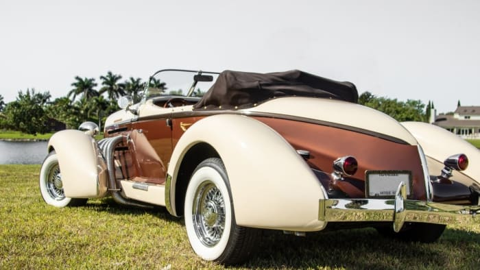 Image #1 of our 1936 Auburn Boattail Speedster () In Miami Fort Lauderdale Palm Beach South Florida