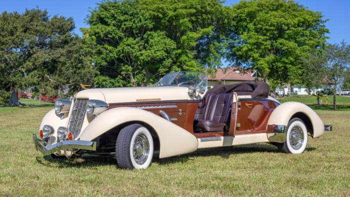 Image #2 of our 1936 Auburn Boattail Speedster () In Miami Fort Lauderdale Palm Beach South Florida