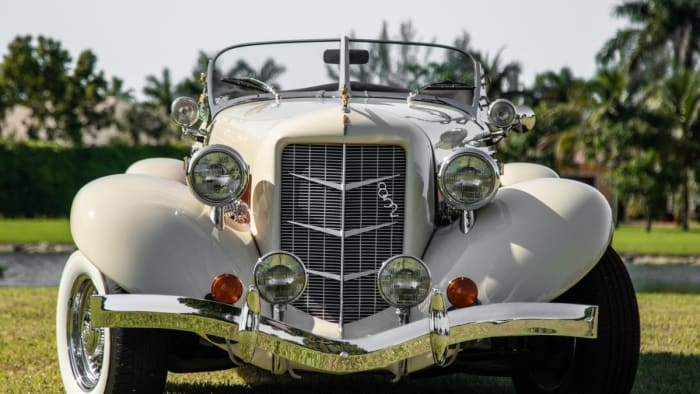 Image #3 of our 1936 Auburn Boattail Speedster () In Miami Fort Lauderdale Palm Beach South Florida