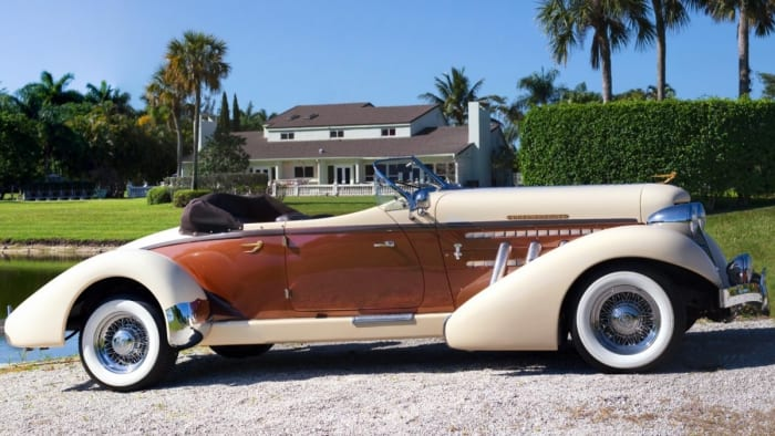 Image #5 of our 1936 Auburn Boattail Speedster () In Miami Fort Lauderdale Palm Beach South Florida