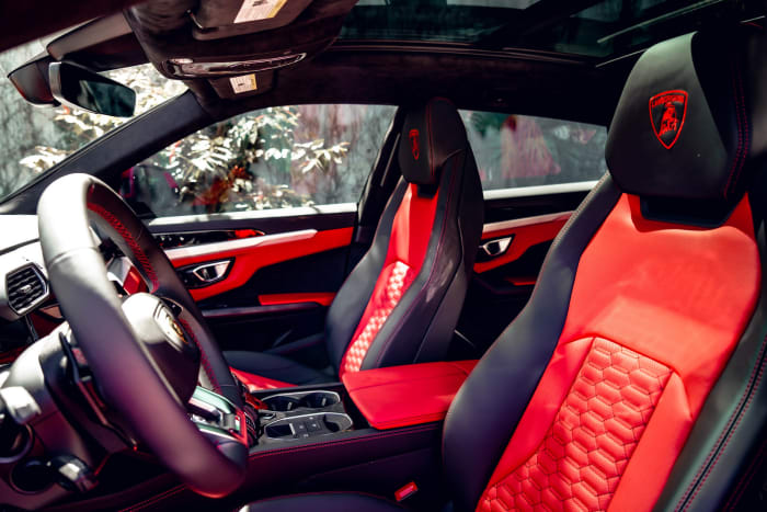Image #5 of our 2018 Lamborghini Urus  (Red) In Miami Fort Lauderdale Palm Beach South Florida
