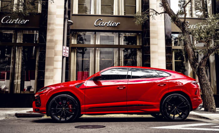 Image #1 of our 2018 Lamborghini Urus  (Red) In Miami Fort Lauderdale Palm Beach South Florida