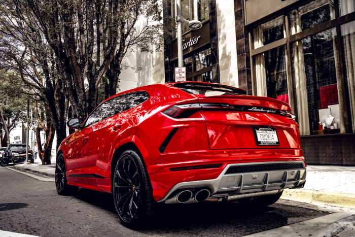 Image #2 of our 2018 Lamborghini Urus  (Red) In Miami Fort Lauderdale Palm Beach South Florida