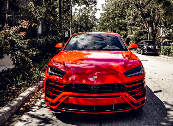Image #3 of our 2018 Lamborghini Urus  (Red) In Miami Fort Lauderdale Palm Beach South Florida