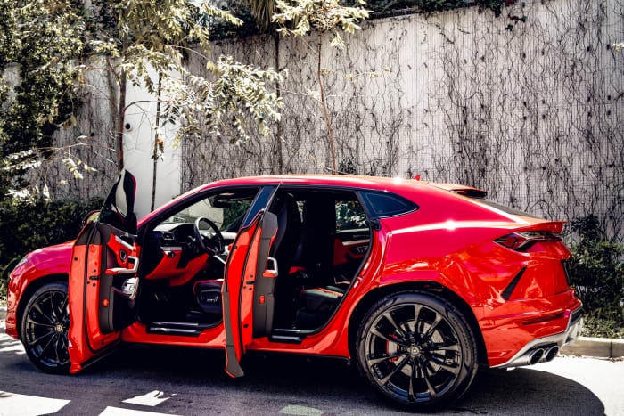 Image #4 of our 2018 Lamborghini Urus  (Red) In Miami Fort Lauderdale Palm Beach South Florida