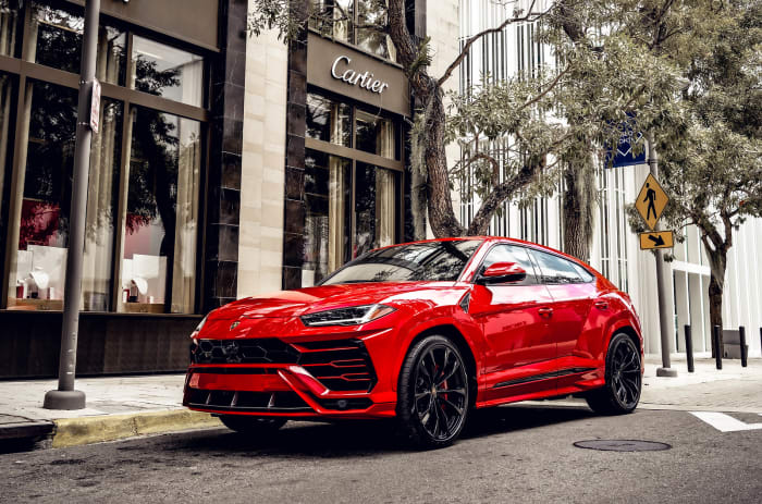 Image #0 of our 2018 Lamborghini Urus  (Red) In Miami Fort Lauderdale Palm Beach South Florida
