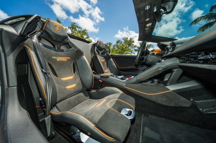 Image #11 of our 2022 Lamborghini Huracan EVO  (Orange) In Miami Fort Lauderdale Palm Beach South Florida