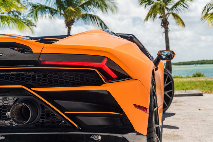 Image #16 of our 2022 Lamborghini Huracan EVO  (Orange) In Miami Fort Lauderdale Palm Beach South Florida