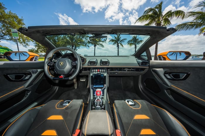 Image #15 of our 2022 Lamborghini Huracan EVO  (Orange) In Miami Fort Lauderdale Palm Beach South Florida