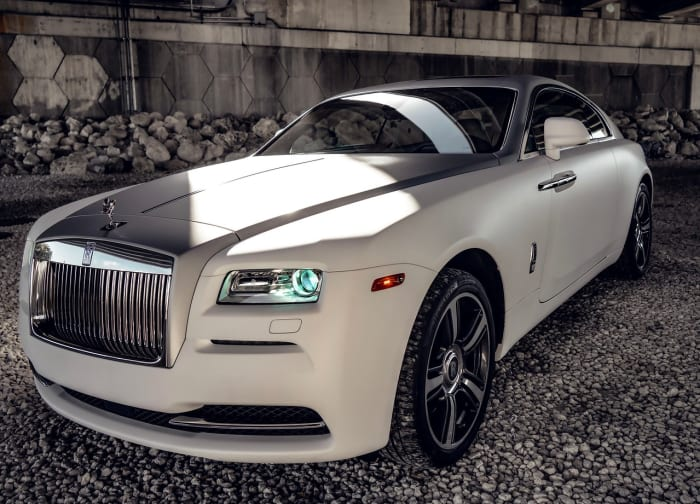 Image #0 of our 2018 Rolls Royce Wraith  (Matte White) In Miami Fort Lauderdale Palm Beach South Florida