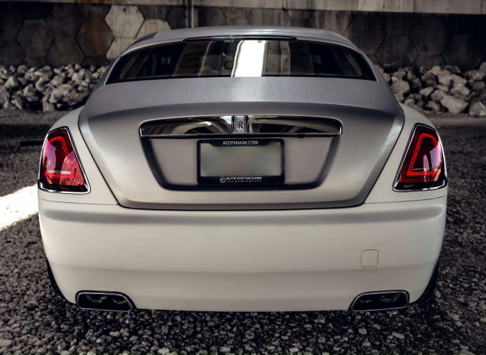 Image #1 of our 2018 Rolls Royce Wraith  (Matte White) In Miami Fort Lauderdale Palm Beach South Florida