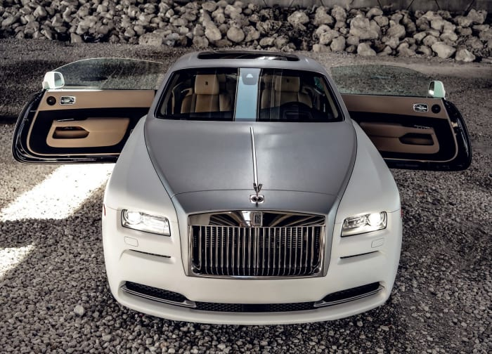 Image #2 of our 2018 Rolls Royce Wraith  (Matte White) In Miami Fort Lauderdale Palm Beach South Florida