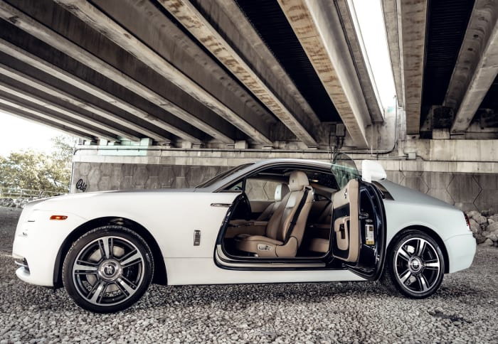 Image #5 of our 2018 Rolls Royce Wraith  (Matte White) In Miami Fort Lauderdale Palm Beach South Florida