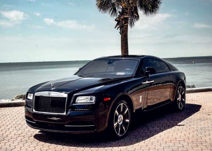 Image #0 of our 2021 Rolls Royce Wraith Starlight (Black) In Miami Fort Lauderdale Palm Beach South Florida