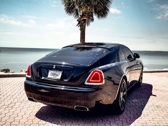Image #2 of our 2021 Rolls Royce Wraith Starlight (Black) In Miami Fort Lauderdale Palm Beach South Florida