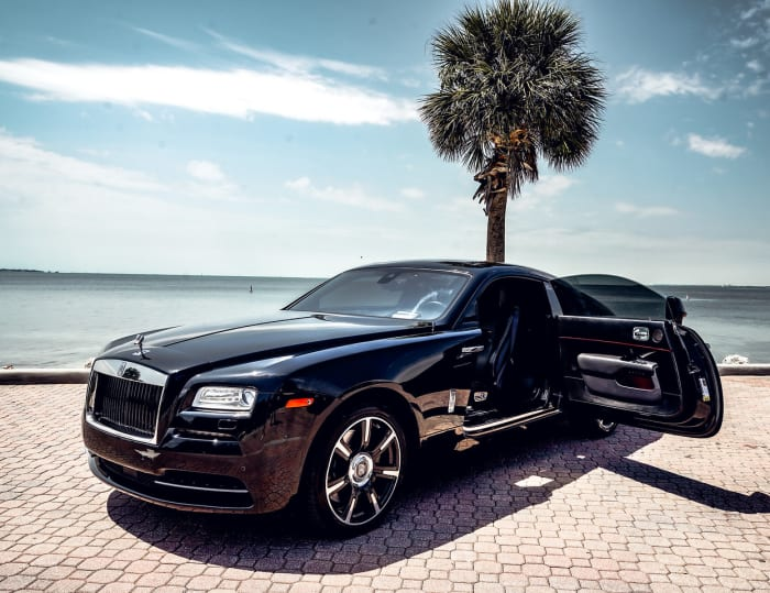 Image #5 of our 2021 Rolls Royce Wraith Starlight (Black) In Miami Fort Lauderdale Palm Beach South Florida