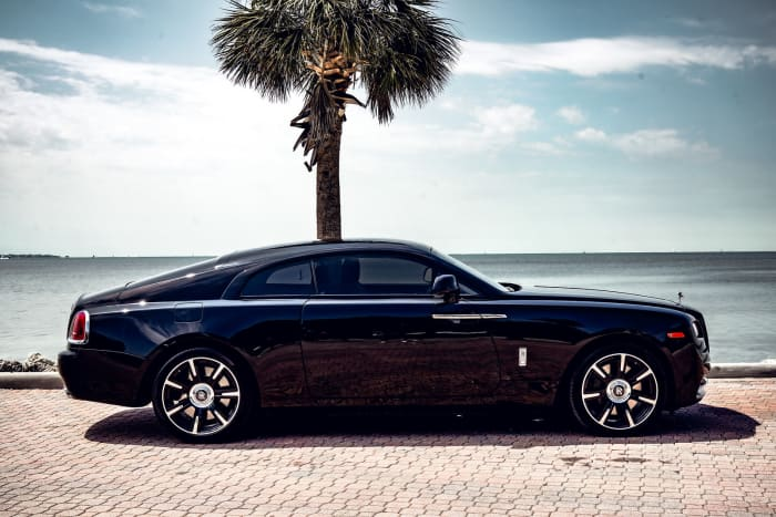 Image #6 of our 2021 Rolls Royce Wraith Starlight (Black) In Miami Fort Lauderdale Palm Beach South Florida